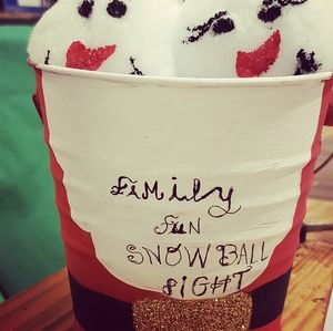 Other - Snow ball fight in a bucket